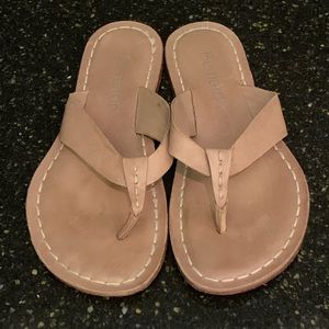 Bernardo Nude Thong Sandals